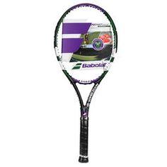 Raqueta Babolat Reakt Tour Wimbledon - Violeta+Verde