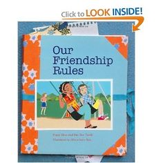 "I have used this book to help students make their own friendship rules. ""Our Friendship Rules"" by Peggy Moss is a great book to use in elementary school girl groups relating to friendship and relational aggression.  For more innovative ideas, creative lessons and quality resources, visit School Counselor Blog - www.schcounselor.com. ($7.95)"