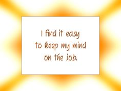 Daily Affirmation for May 22, 2014