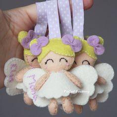Felt angel angels by PoCat Factory