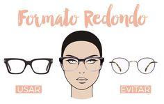 16 melhores imagens de Visagismo   Stylists, Eyeglasses e Eyewear 331fa98bba