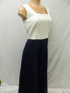 White top w/ long blue bottoms Our Price - 5.99 August 2014