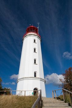 Lighthouse in Hiddensee, Germany  Baltic Sea
