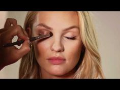 Victoria's Secret bronze make up tutorial