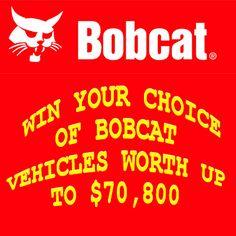 Bobcat's One-Millionth Bobcat Loader Contest