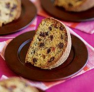 Brown-Butter Banana Cake withChocolate Chips.  This is really really good.