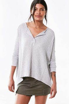 BDG Avery Henley Sweater