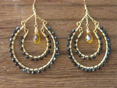 Gypsy In Me Hoop Earrings by Tarajamu on Etsy, $64.00