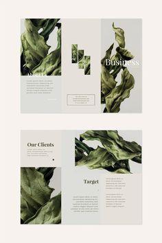 Graphic Design Brochure, Brochure Design Inspiration, Brochure Layout, Graphic Design Illustration, Brochure Trifold, Pamphlet Template, Pamphlet Design, Leaflet Design, Booklet