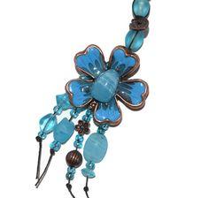 OOAK Gifts for Her Torquoise Enamel by BlingThingsOriginals