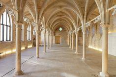 La nef du Collège des Bernardins dans le 5ème