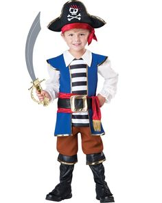 Pirate Boys Toddler Costume