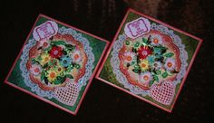 Pair of Quilled Thank you Cards