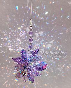 Chakra Crystals, Swarovski Crystals, Rainbow Butterfly, Shining Star, Beautiful Gifts, Beautiful Flowers, Love Craft, Sun Catcher, Inspirational Gifts