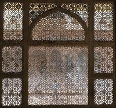 Carved Marble Screen, Fatehpur Sikri, India