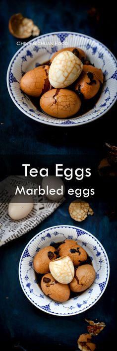 Chinese tea egg is one of the most famous and popular street food