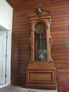 1883 Vintage Clocks, Old Clocks, Antique Clocks, Grandmother Clock, Unusual Clocks, Nature Pictures, Towers, Hands, Spaces