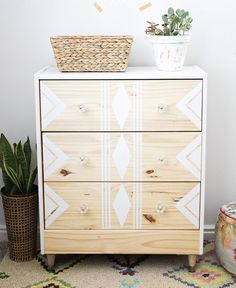 This IKEA dresser hack is gorgeous.