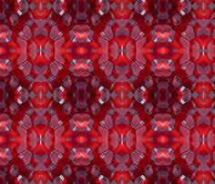 Pomegranate Seeds fabric by imagecrafts on Spoonflower - custom fabric