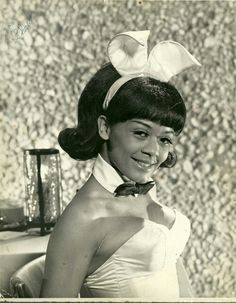 Sharon Risiner -One of the first Black Playboy Bunnies.