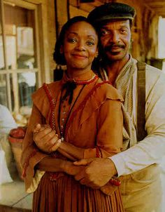 Robert E. and Grace played by Henry G. Sanders and Jonelle Allen on the Dr. Quinn Medicine Woman television series.
