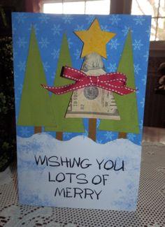 Christmas money card
