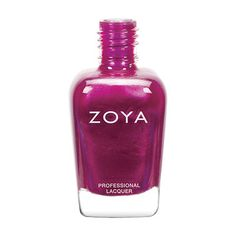 """Zoya Nail Polish in Mason can be best described as an exciting red violet or """"Fandango Pink"""" metallic"""