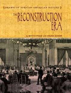 Cover image for The Reconstruction era