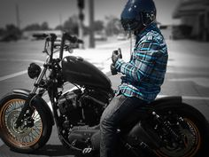Harley Davidson Iron Custom