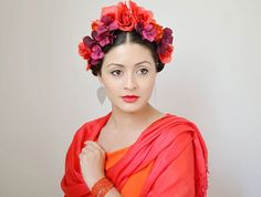 Get the look: Frida Kahlo-Inspired Hair - Latina Mom Tips & Advice   mom.me