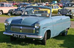 Carbodies of Coventry converted Ford Consul and Zephyr bodies. The monocoque body needed strengthening to put back rigidity lost by removing the roof. Convertible, Ford Motor Company, Fiat 500, Classic Trucks, Classic Cars, Vintage Cars, Antique Cars, Ford Zephyr, 1950s Car