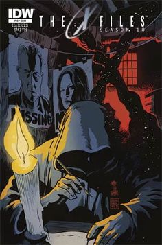 #XFiles Season 10 #18 Cover A Regular Francesco Francavilla Cover - Midtown Comics