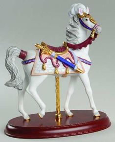1992 Lenox Camelot Carousel Horse Replacements, Ltd