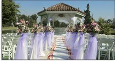 wedding gazebo decorations | The colour purple - Weddings, Babies and Life in General