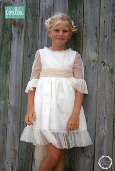 vestidos de ceremonia preciosos por delante y por detr s trendy children blog de moda infantil. Black Bedroom Furniture Sets. Home Design Ideas