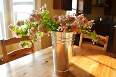 country floral arrangement