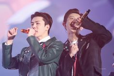 191229 Sehun, Chanyeol EXplOration dot in Seoul Day 1 Exo K, Park Chanyeol, Baekhyun, Kim Min Seok, Xiu Min, Exo Ot12, Chanbaek, Exo Couple, Celebrity List