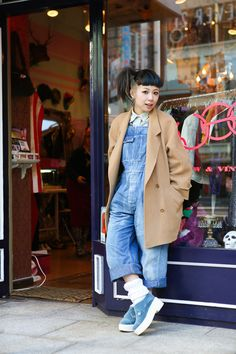 ストリートスナップ [Coi] | BURBERRY, CHANEL, used, シャネル, バーバリー, 古着 | 原宿 | Fashionsnap.com