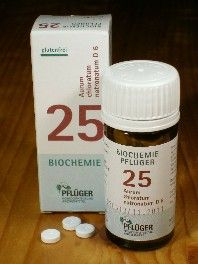Schüssler-Salz: 25. Aurum chloratum natronatum
