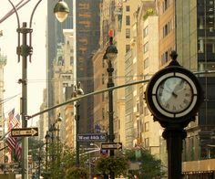 5th Avenue and 44th Street   New York