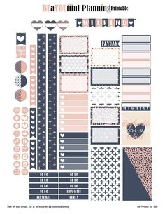 Hey Planner Girls, Hope you enjoy this week's printable. I did create pdf and cut files for the ECLP, Happy