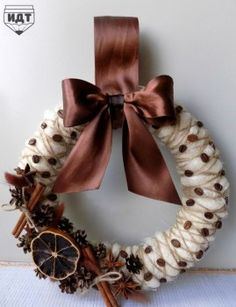Christmas Wreath for Front Door, Christmas Decoration, Christmas Door Wreath, Christmas Wall Decoration, Christmas Front Door Decoration Christmas Wreaths For Front Door, Christmas Door Decorations, Holiday Wreaths, Door Wreaths, Christmas Mood, All Things Christmas, Christmas Crafts, Christmas Ornaments, Coffee Crafts