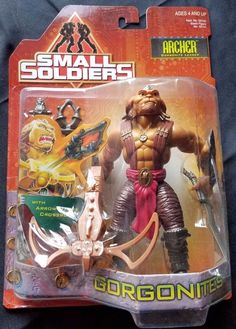 1998 Kenner Small Soldiers Movie Action Figure Archer Gorgonite Leader for sale online Small Soldiers, Nerd Cave, Old School Toys, Kids Board, Sideshow Collectibles, Childhood Toys, 90s Kids, Comic Book Heroes, Alter