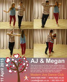 Congratulations AJ & Megan  www.mjdc.co.za Two People, Beautiful One, First Dance, Comebacks, Congratulations, Learning, Fun, Wedding, Valentines Day Weddings