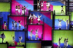 Festa de abertura da Rio-2016 empolga imprensa internacional