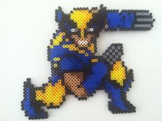 Wolverine Perler Bead by jonnyMONSTAR