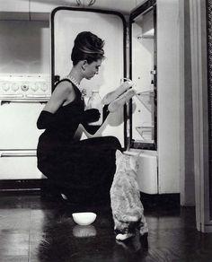 "Actress Audrey Hepburn (1929-1993), in Blake Edwards' film, ""Breakfast at Tiffany's,"" 1961"