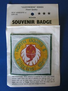 Youth Hostels Association (YHA) - North Downs & Pilgrims' Way Sew-on badge