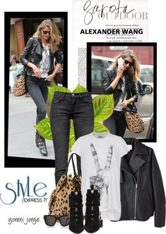 Style Express - by Gisele /Alexander Wang
