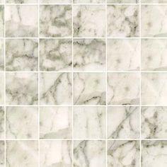 Miniature Square White Marble Tile Flooring | eBay